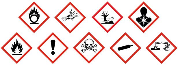 Classificatie, herkennen en gebruiken van gevaarlijke stoffen voor beginners – 11-2-2020