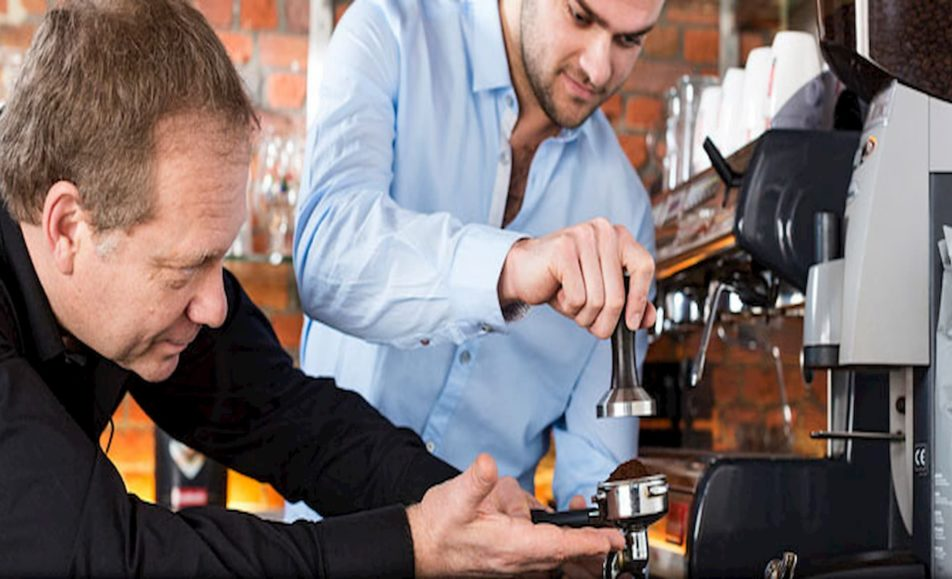 Barista training verzorgt door Rombouts koffie 23-01-2020 10:00u